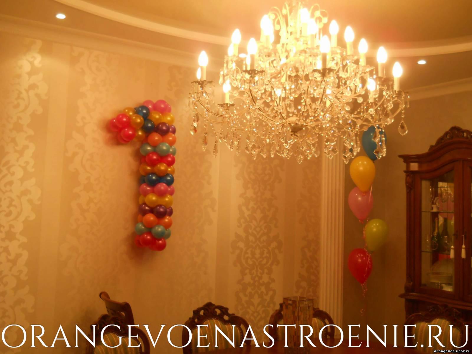 шары на день рождения ребенка