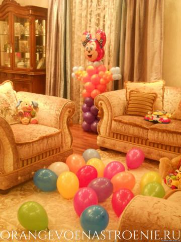 Заказ шаров на день рождения.