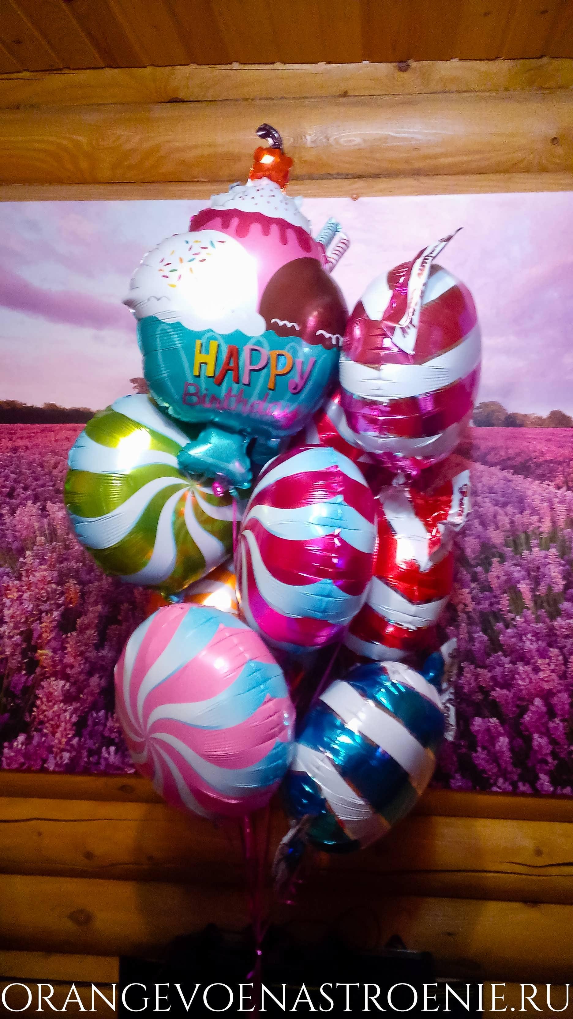 шары.фольга.день рождения