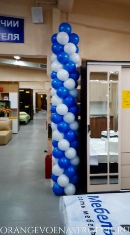 шары на открытие магазина
