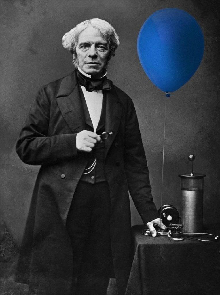 Воздушные шары - изобретатель Фарадей