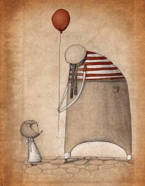 Армстронг - Мужчина с шариком